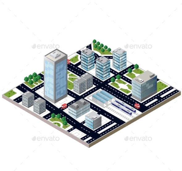 GraphicRiver City Blocks 10299690