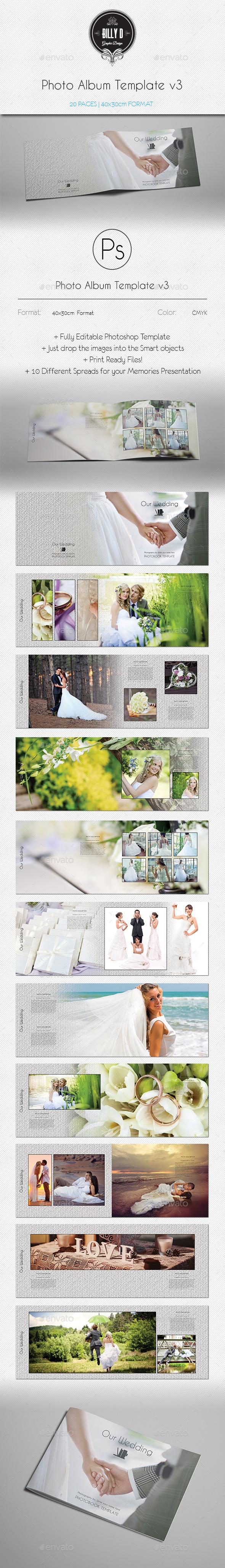 GraphicRiver Photo Album Template v3 10299744