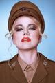 Sensual portrait of an elegant army recruit - PhotoDune Item for Sale