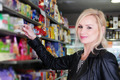 Pretty Woman Shopping at the Grocery Store - PhotoDune Item for Sale