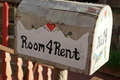 Vintage Mail Box with Room 4 Rent Text - PhotoDune Item for Sale