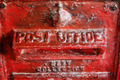 Close up Metal Post Office Signage - PhotoDune Item for Sale