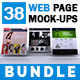 Website Display Mock-ups Bundle-V1 - GraphicRiver Item for Sale