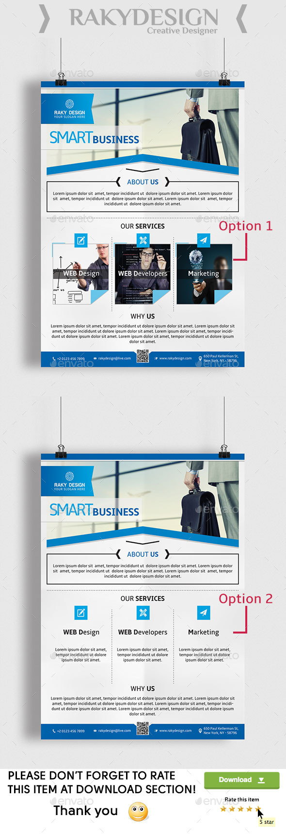 GraphicRiver Corporate Flyer 10184451