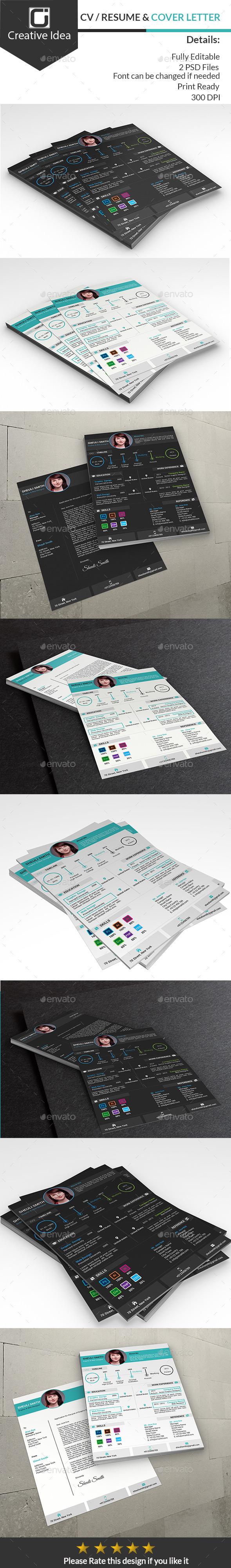 GraphicRiver CV Resume & Cover Letter 10300332