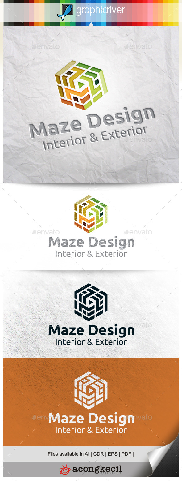 GraphicRiver Maze Design V.4 10300412