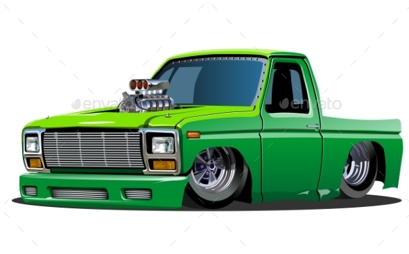 GraphicRiver Cartoon Lowrider 10300636