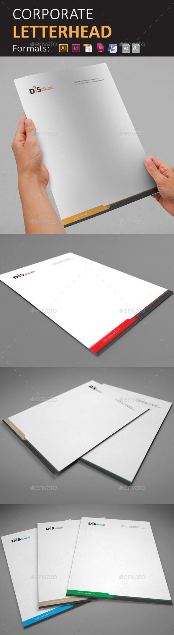 GraphicRiver Letterhead 10300682