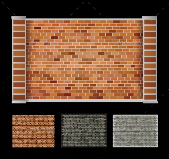 GraphicRiver Wall of Bricks 10300721