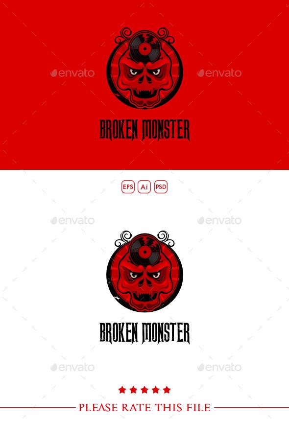 GraphicRiver Skull Logo 10272919