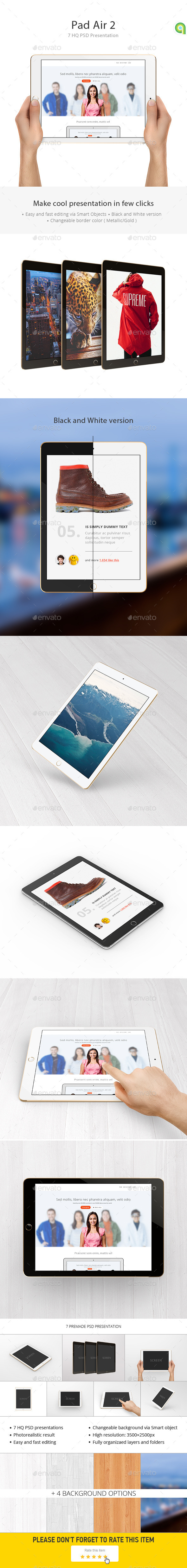 GraphicRiver Tablet Mockup 10301466