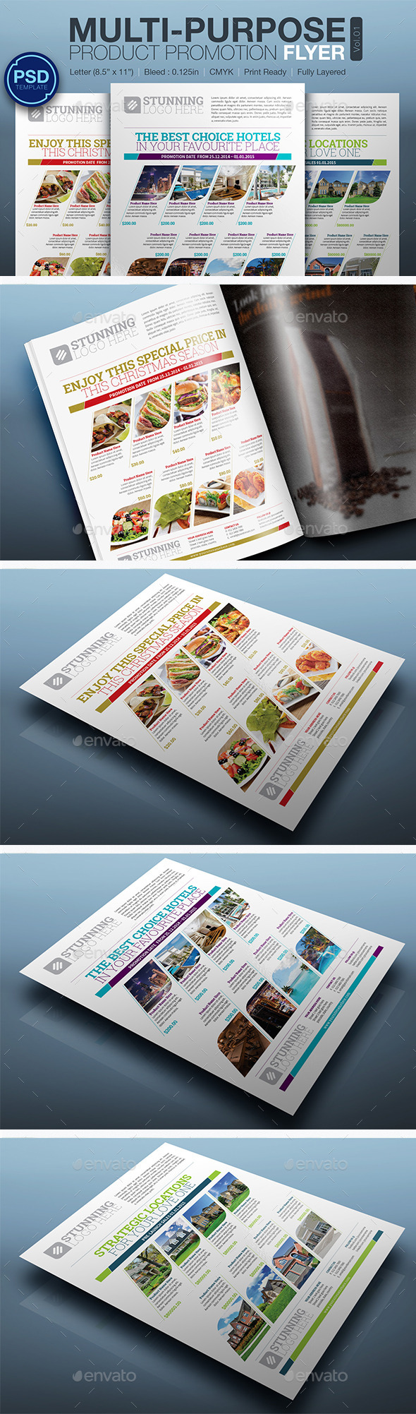 GraphicRiver Product Promotion Flyer Vol.01 10301467