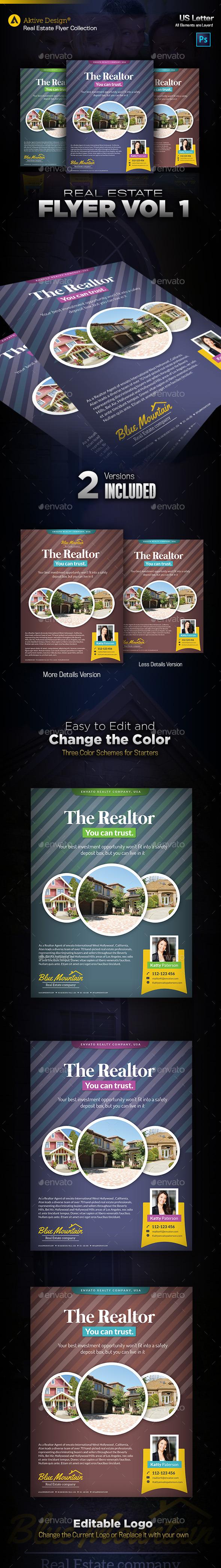 GraphicRiver Real Estate Flyer Vol 01 10301979