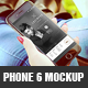 Realistic Phone 6 Mockup - GraphicRiver Item for Sale