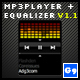 Small MP3Player with real Equalizer (vectorised) - ActiveDen Item for Sale