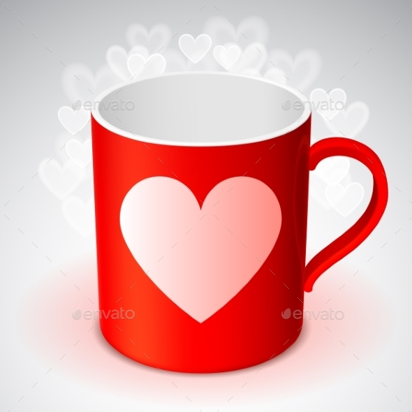 GraphicRiver Cup with Heart Symbol 10302355
