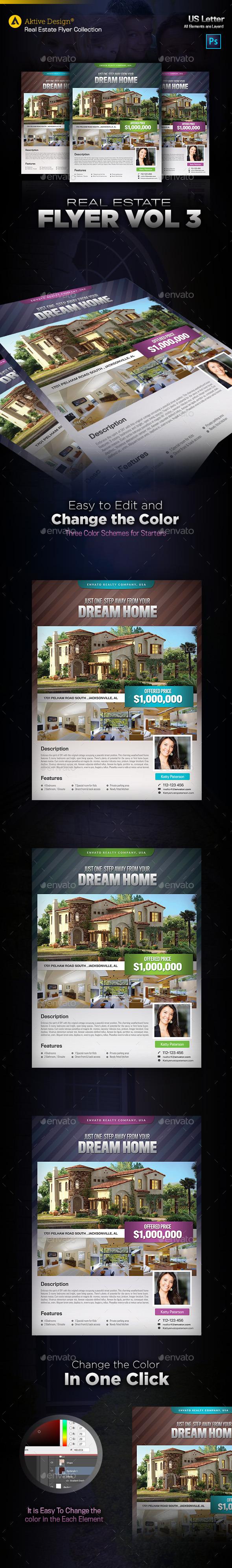 GraphicRiver Real Estate Flyer Vol 03 10302382