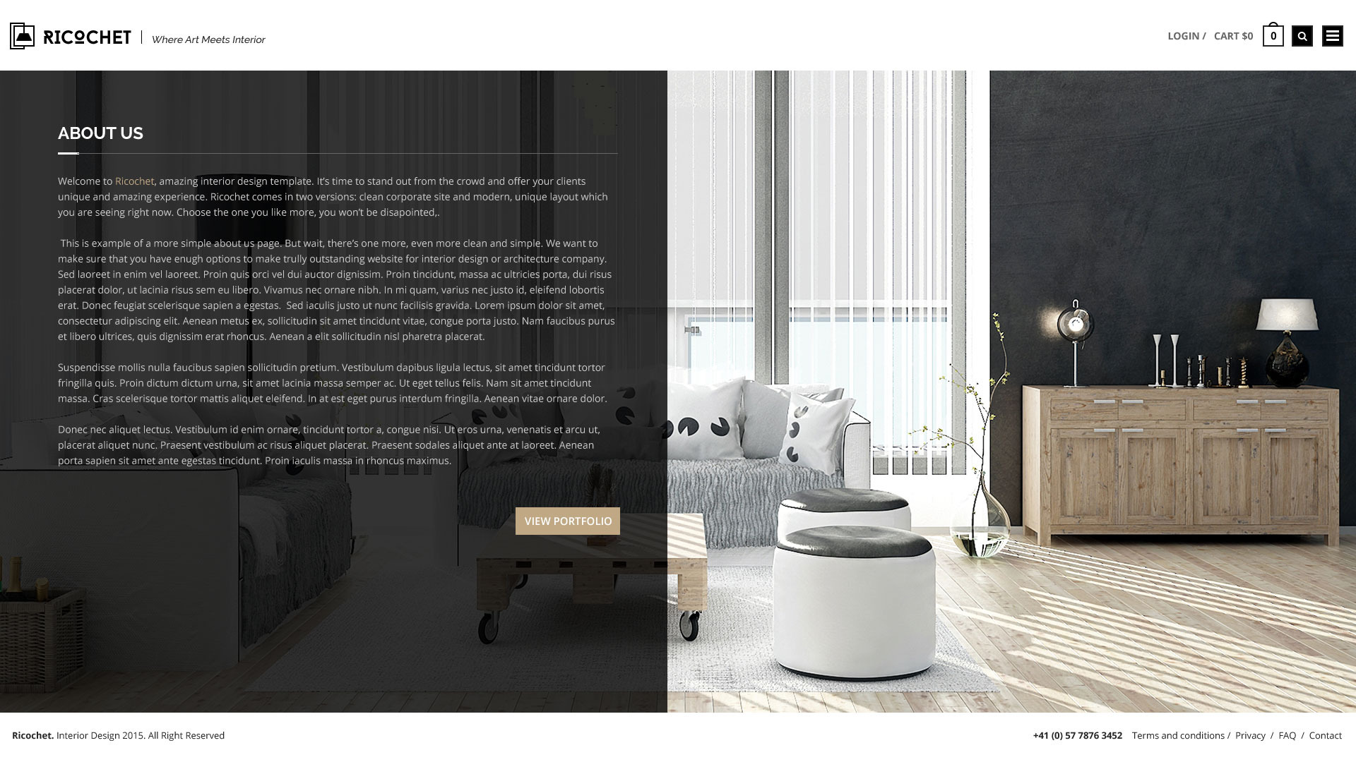 Interior Design Terms And Conditions Terms And