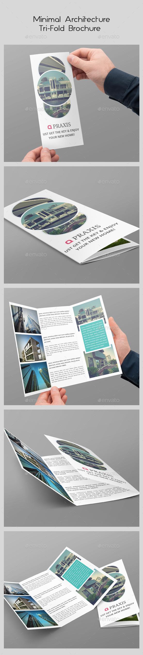 GraphicRiver Minimal Architecture Tri-Fold Brochure 10302665