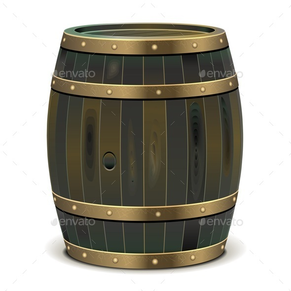 GraphicRiver Old Barrel 10302666