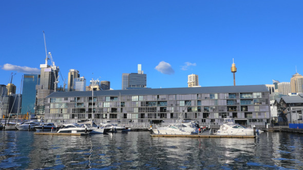 Darling Harbor and Sydney CBD Pyrmont
