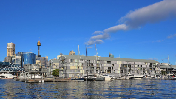 Darling Harbour and Sydney City Pyrmont