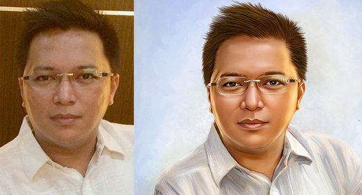 I will make your photo into a digital oil painting