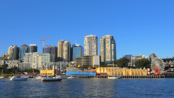 Lavender Bay and North Sydney
