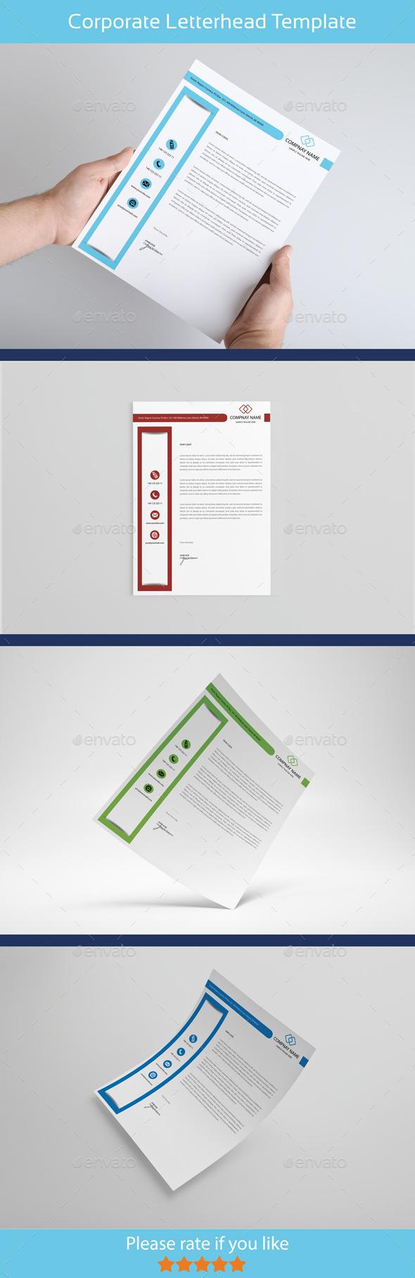 GraphicRiver Creative & Modern Letterhead 10303514