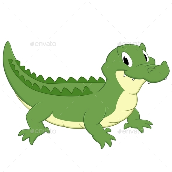 GraphicRiver Cartoon Crocodile 10303530
