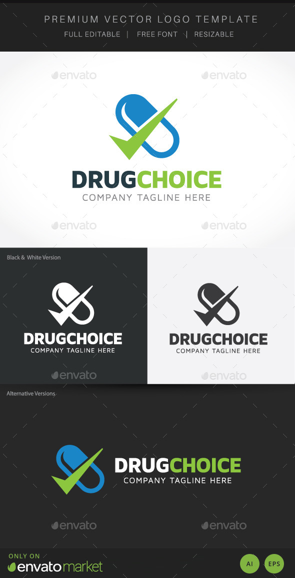 GraphicRiver Drug Choice 10303720