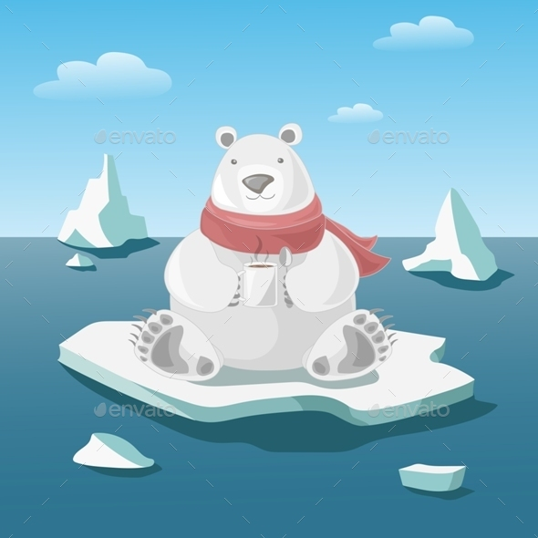 GraphicRiver Polar Bear 10303775