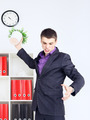 Angry Young Businessman - PhotoDune Item for Sale