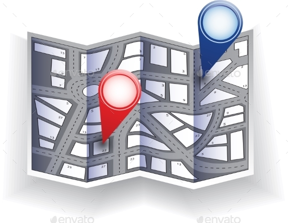 GraphicRiver City Map 10303839