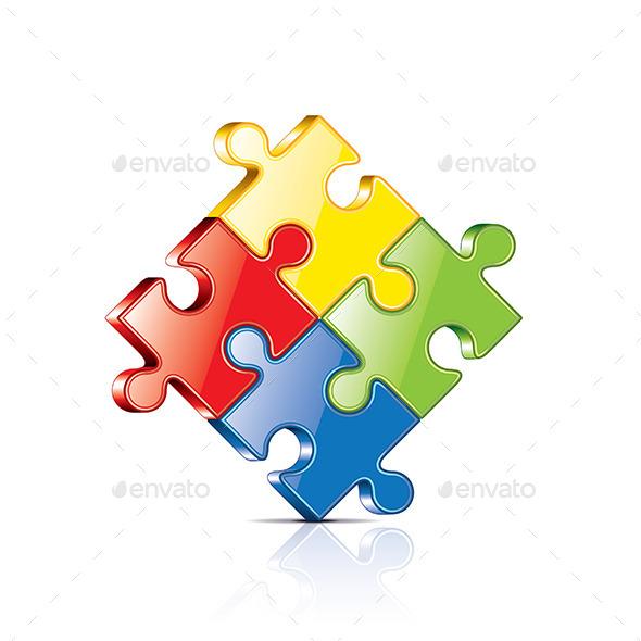 GraphicRiver Puzzles 10303995