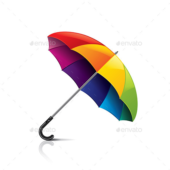 GraphicRiver Colorful Umbrella 10304004
