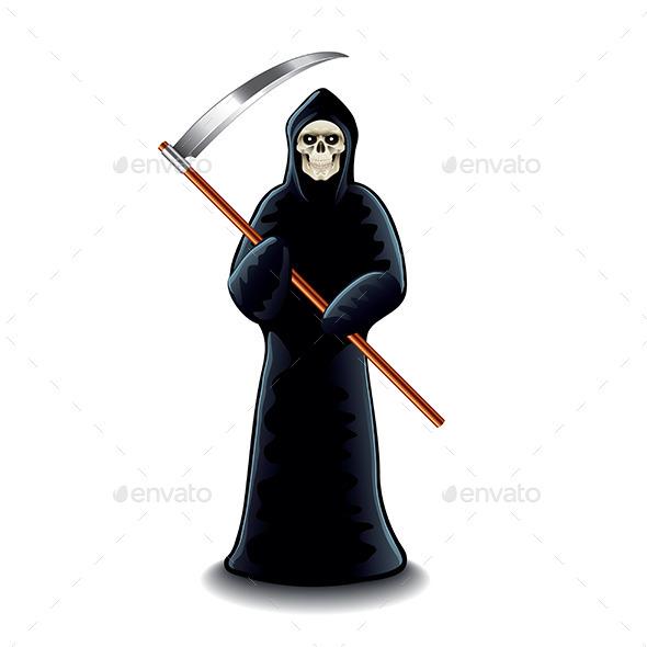 GraphicRiver Grim Reaper 10304012