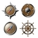 Set of Steel and Wooden Nautical Elements - GraphicRiver Item for Sale