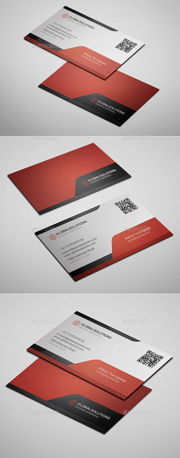 GraphicRiver Corporate Business Card 8 10304147