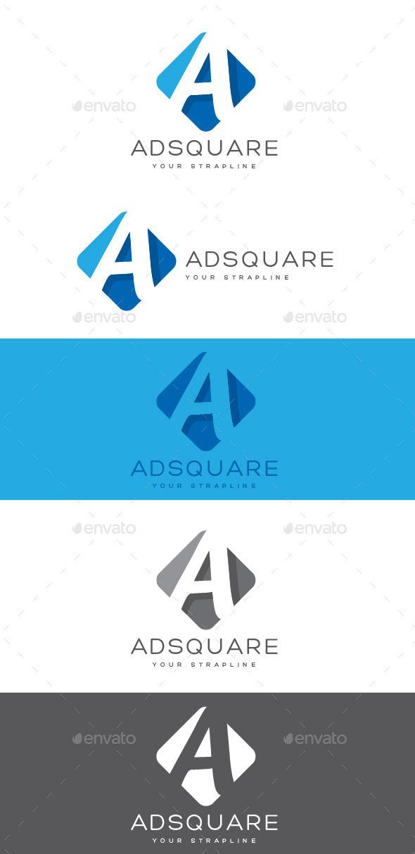 GraphicRiver Adsquare Letter A Logo 10304168