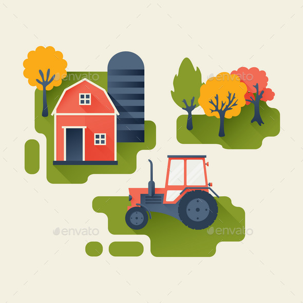 GraphicRiver Agricultural Industry Concept 10304710