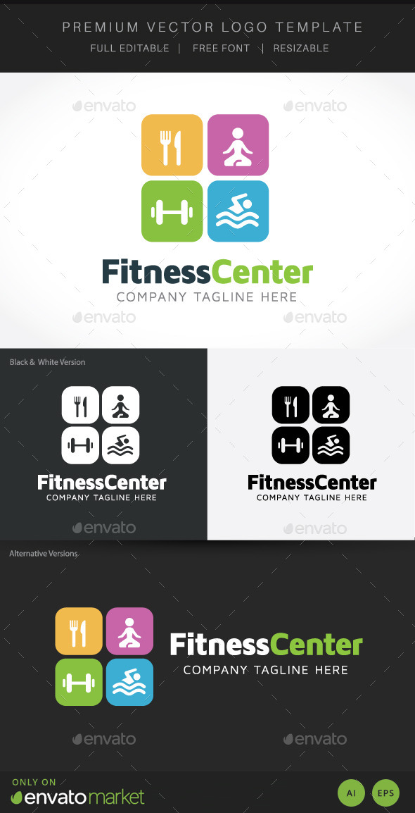 GraphicRiver Fitness Centre 10304724