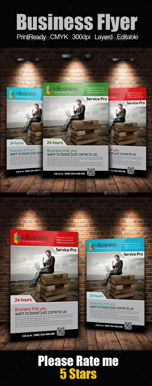 GraphicRiver A4 Business Flyer 10304841