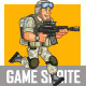 U.S. Soldier Game Sprite - GraphicRiver Item for Sale