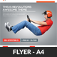 Fast Corporate Business Flyer Template - GraphicRiver Item for Sale