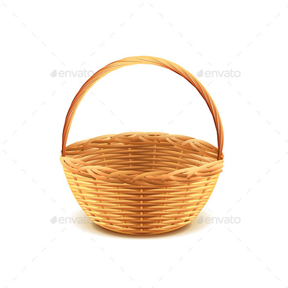 GraphicRiver Wicker Basket 10305039