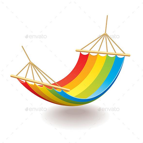 GraphicRiver Colorful Hammock 10305042