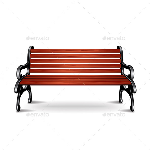 GraphicRiver Wooden Bench 10305047