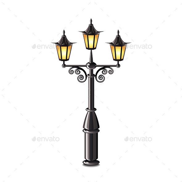 GraphicRiver Street Lantern 10305058