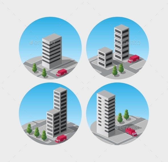 GraphicRiver Building Icons 10305070